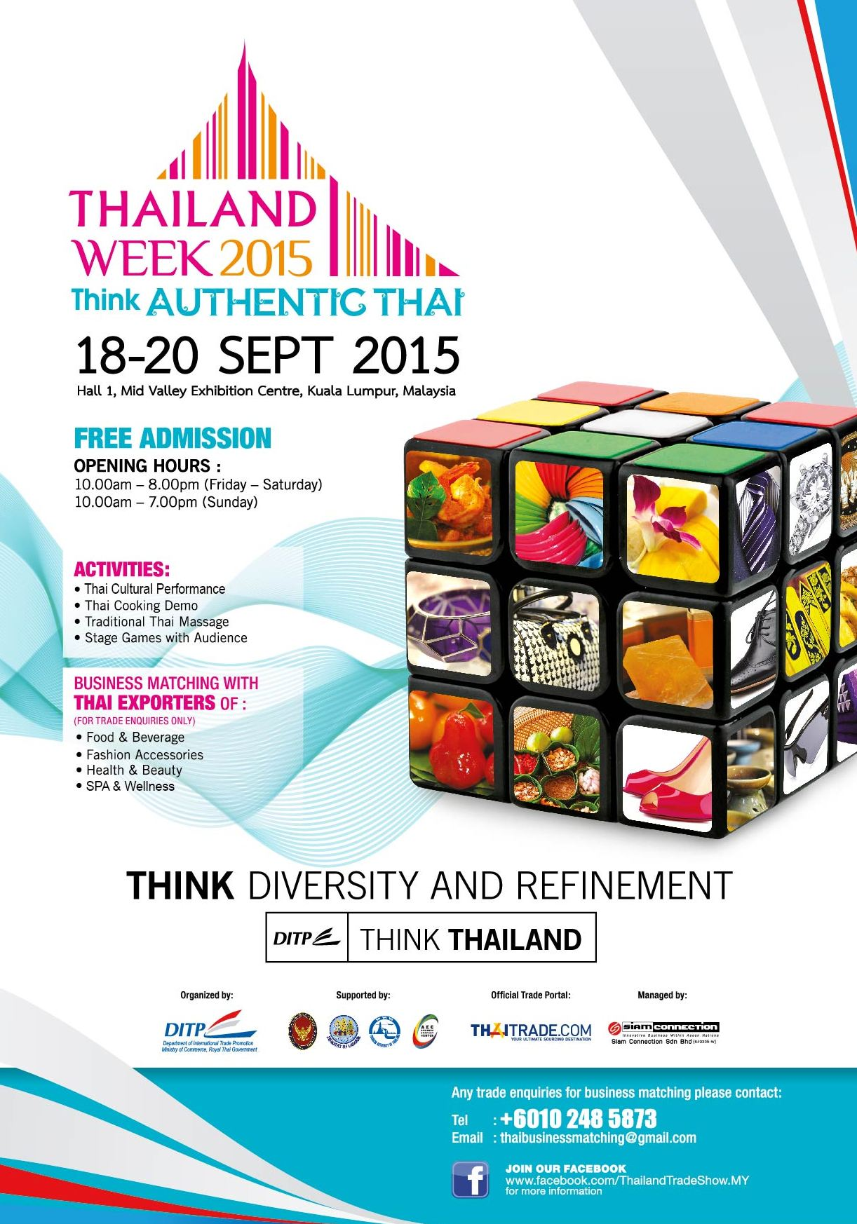 Thailand Week Thai Fashion Food And Fun: Innovative Business Within ASEAN Nations